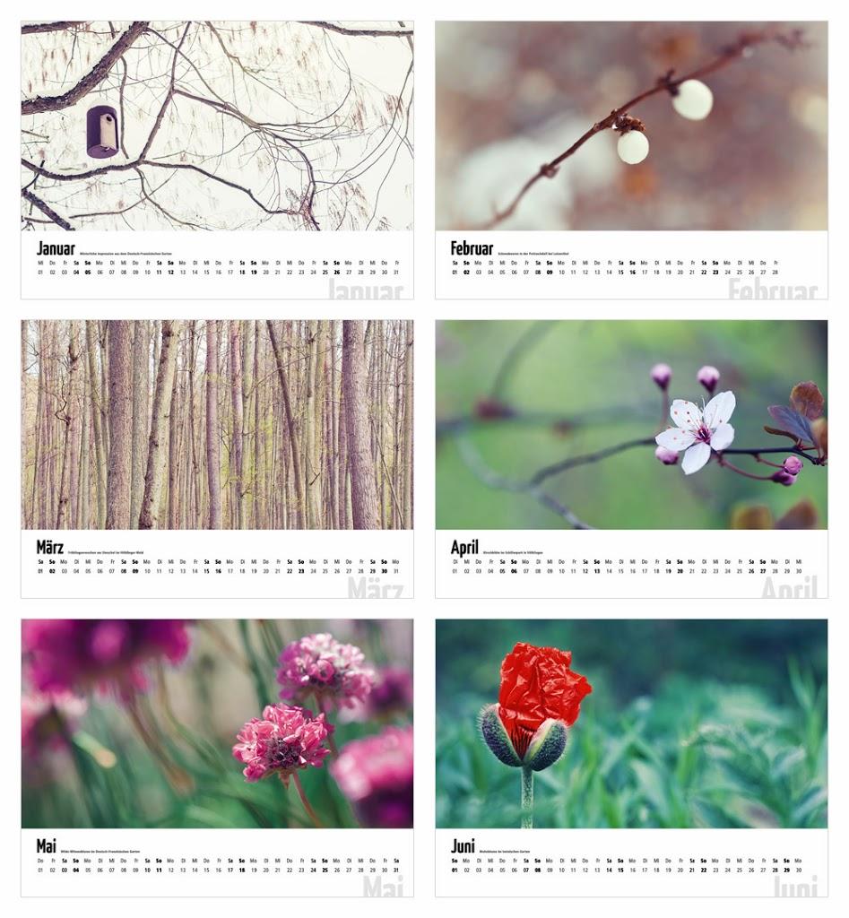 Kalender 2014 fotogräfin